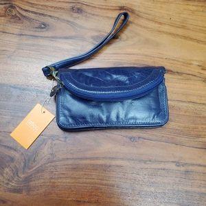 Latico Deep Blue Clutch/Wallet/Wristlet